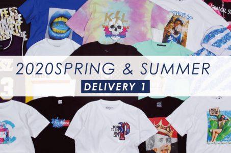 2020春夏新作Tシャツ発売